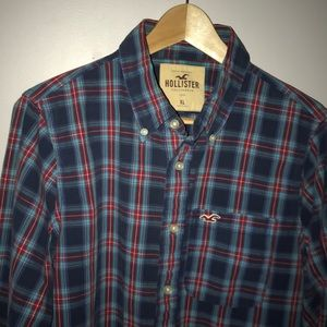 Hollister Casual Button-Down Long-Sleeve Shirt